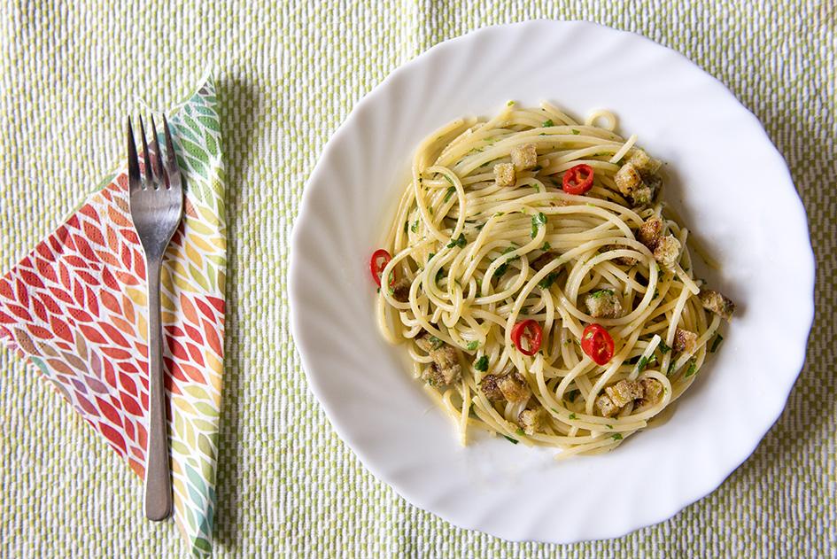Spaghetti colatura